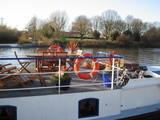 テムズ川のボート