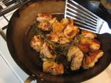 ローズマリーと鶏肉